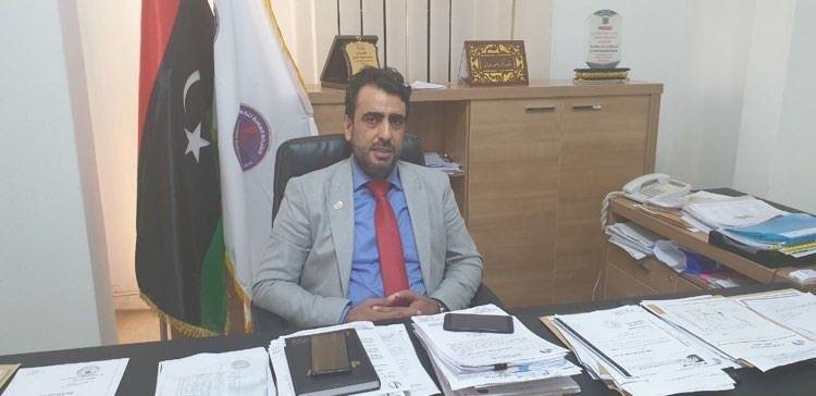 المدير التنفيذي للشركة العامة للكهرباء التابع للحكومة الليبية في بنغازي، المهندس عوض البدري