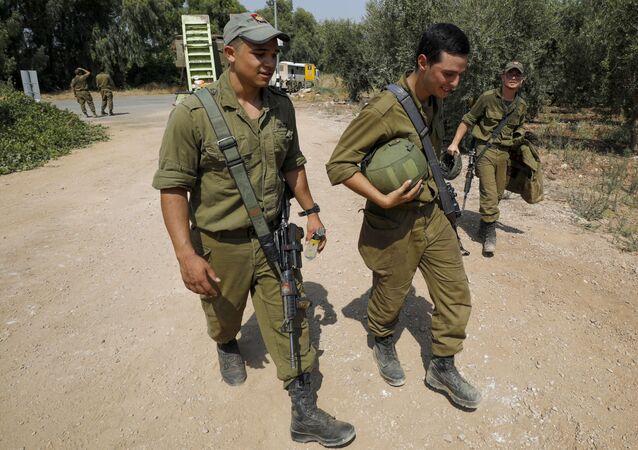 الحدود بين لبنان وإسرائيل - وصول الجيش الإسرائيلي والوحدات العسكرية إلى الحدود اللبنانية الإسرائيلية، 26 يوليو 2020