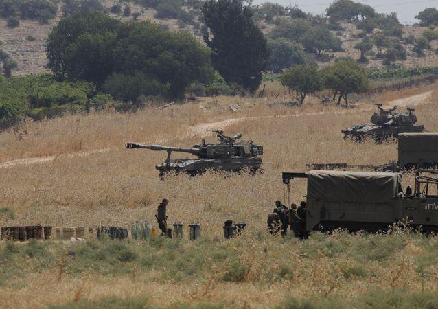 الحدود بين لبنان وإسرائيل - وصول الجيش الإسرائيلي والوحدات العسكرية إلى الحدود اللبنانية الإسرائيلية، 27 يوليو 2020