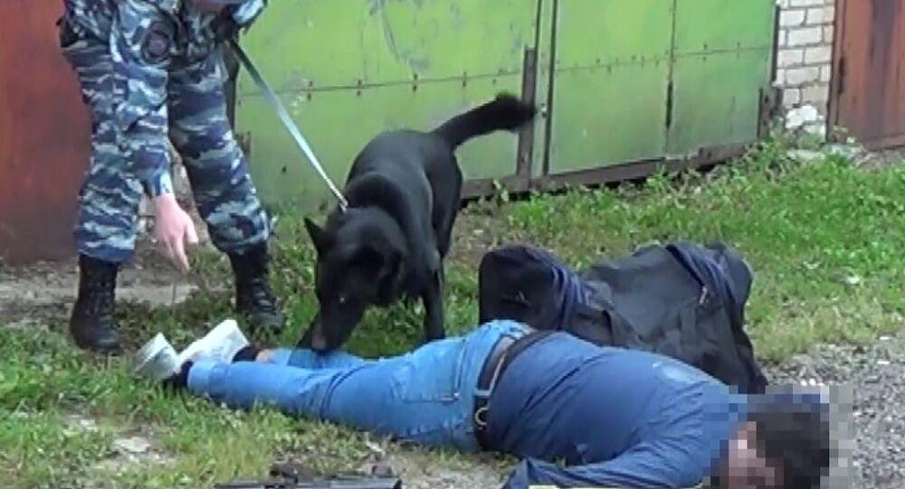جهاز الأمن الفيدرالي الروسي يعلن عن تصفية مسلح في موسكو كان يعد لتنفيذ هجوم إرهابي في موسكو، 27 يوليو 2020