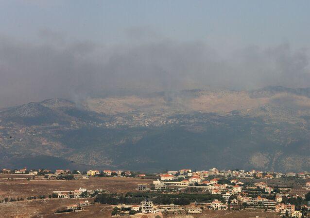 الحدود بين لبنان وإسرائيل - تصاعد التوتر العسكري الحدود اللبنانية الإسرائيلية، 27 يوليو 2020