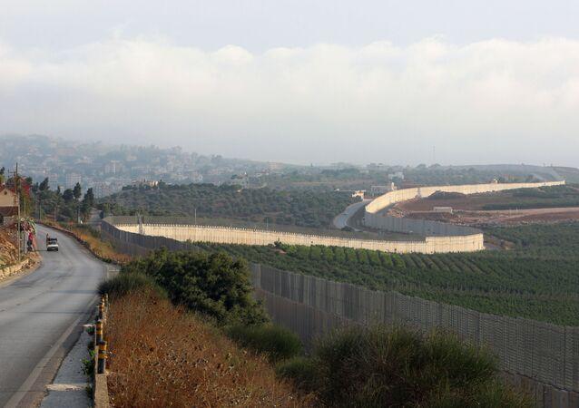 منطقة تصاعد التوتر العسكري على الحدود اللبنانية الإسرائيلية، قرية الخيام جنوب لبنان، إسرائيل 28 يوليو 2020