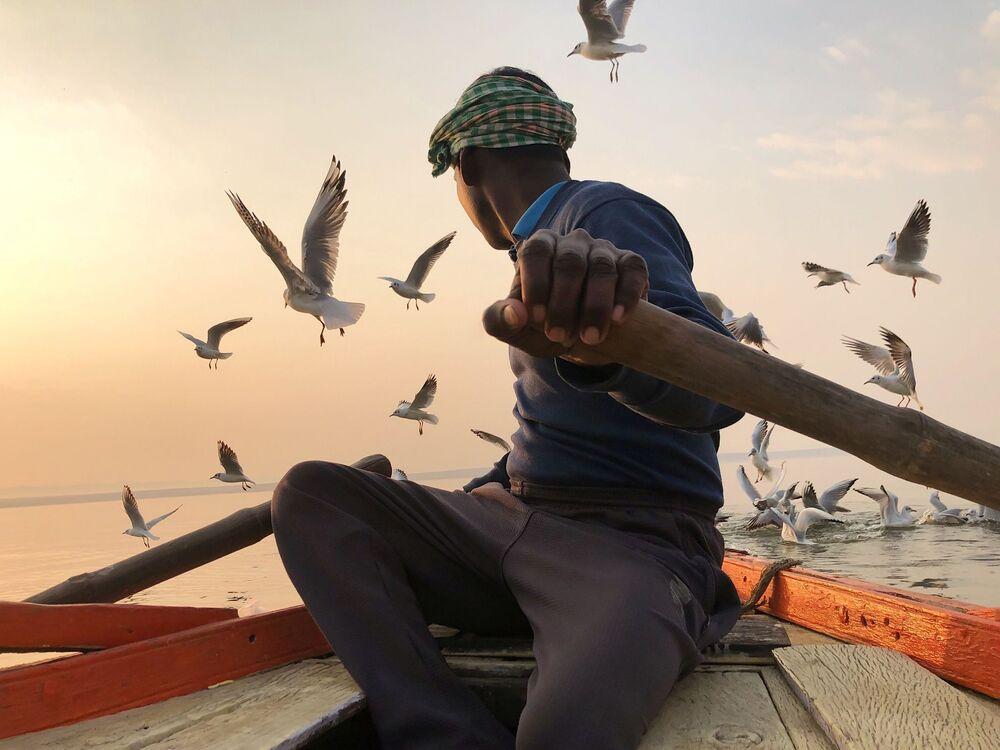 صورة بعنوان خالٍ من الماضي، للمصور الأمريكي كريستيان كروز، الحائزة على الجائزة الرئيسية في فئة التصوير السفر في جوائز مسابقة مصور العام في التصوير بواسطة الهاتف المحمول أيفون لعام 2020