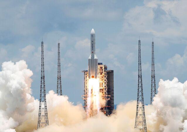 الصاروخ الحامل للمسبار الصيني تيان ون-1