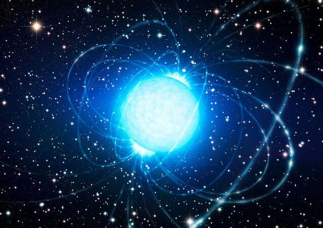 نجم مغناطيسي