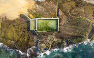 مسبح Mona Vale على شاطئ المحيط في أستراليا