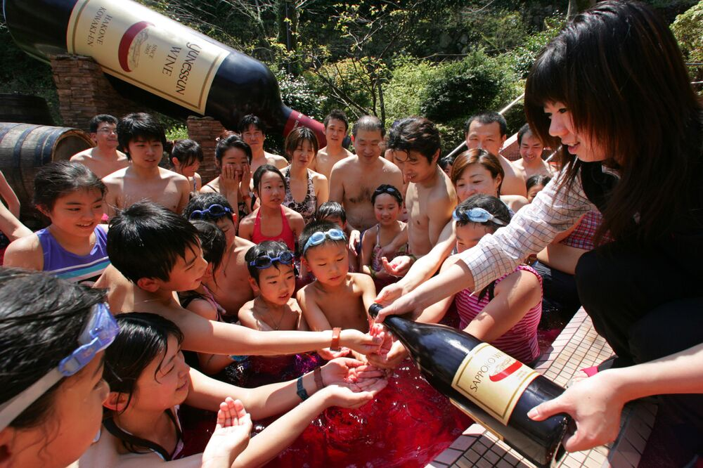 منتجع وسبا النبيذ ريجنسي هاكوني في هاكوني، اليابان