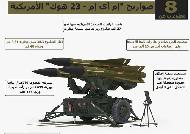 إنفوجرافيك... 8 معلومات عن صواريخ إم آي إم -23 هوك الأمريكية