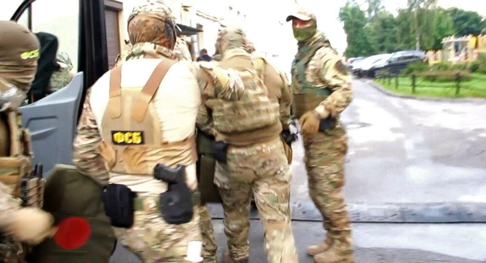 جهاز الأمن الفيدرالي الروسي يعتقل مهاجرين من آسيا الوسطى، ينتمون لتنظيم داعش الإرهابي (المحظور في روسيا وعدد من الدول) كانوا يخططون لاغتيال مسؤولين أمنيين، 29 يوليو 2020