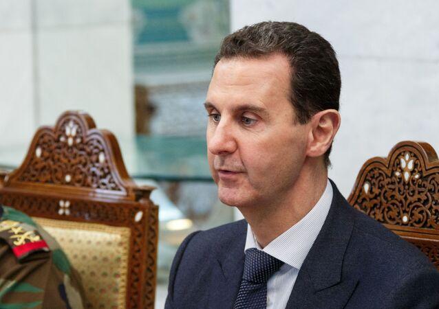 صورة من الأرشيف - الرئيس السوري بشار الأسد، مارس 2020