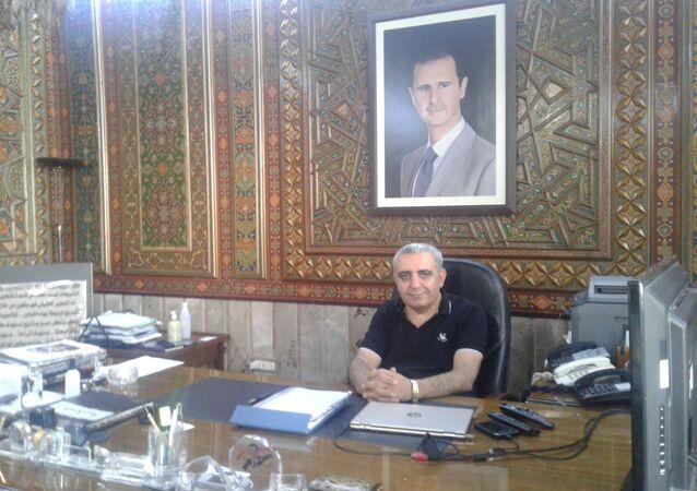 مدين دياب، مدير عام هيئة الاستثمار السورية