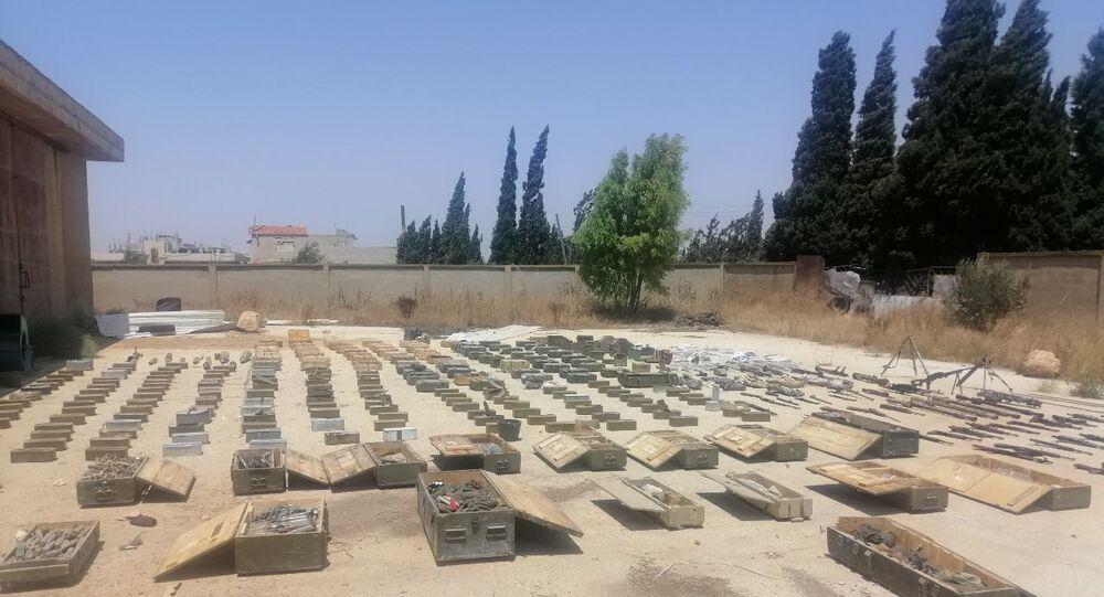 ضبط شحنة أسلحة متوجهة إلى النصرة بإدلب