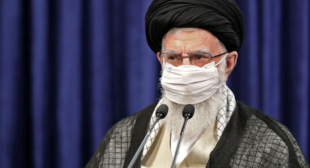 المرشد الأعلى الإيراني علي خامنئي يهنئ الشعب الإيراني بمناسبة عيد الأضحى، طهران، إيران 31 يوليو 2020