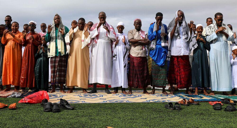 صلاة عيد الأضحى في مقديشو، الصومال 31 يوليو 2020