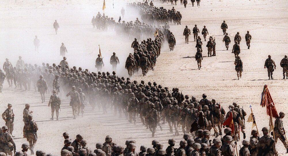 غزو العراق للكويت، 1990