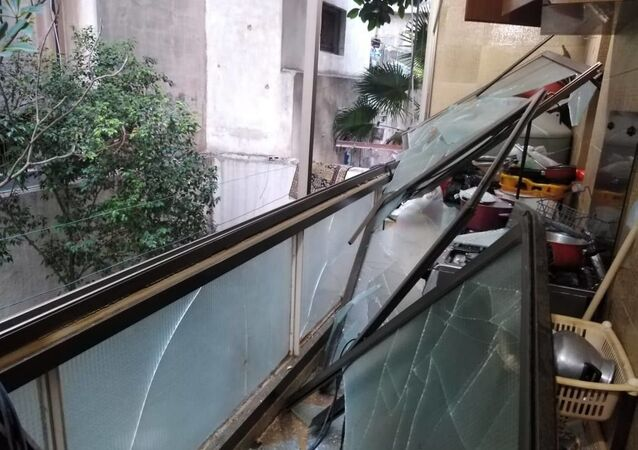 انفجار ضخم بوسط العاصمة اللبنانية