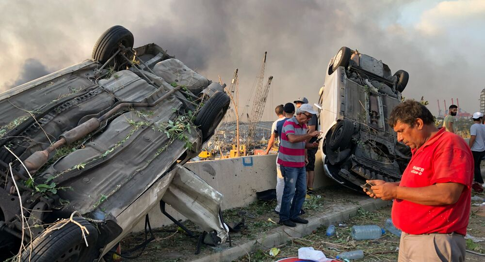 لبنان - انفجار
