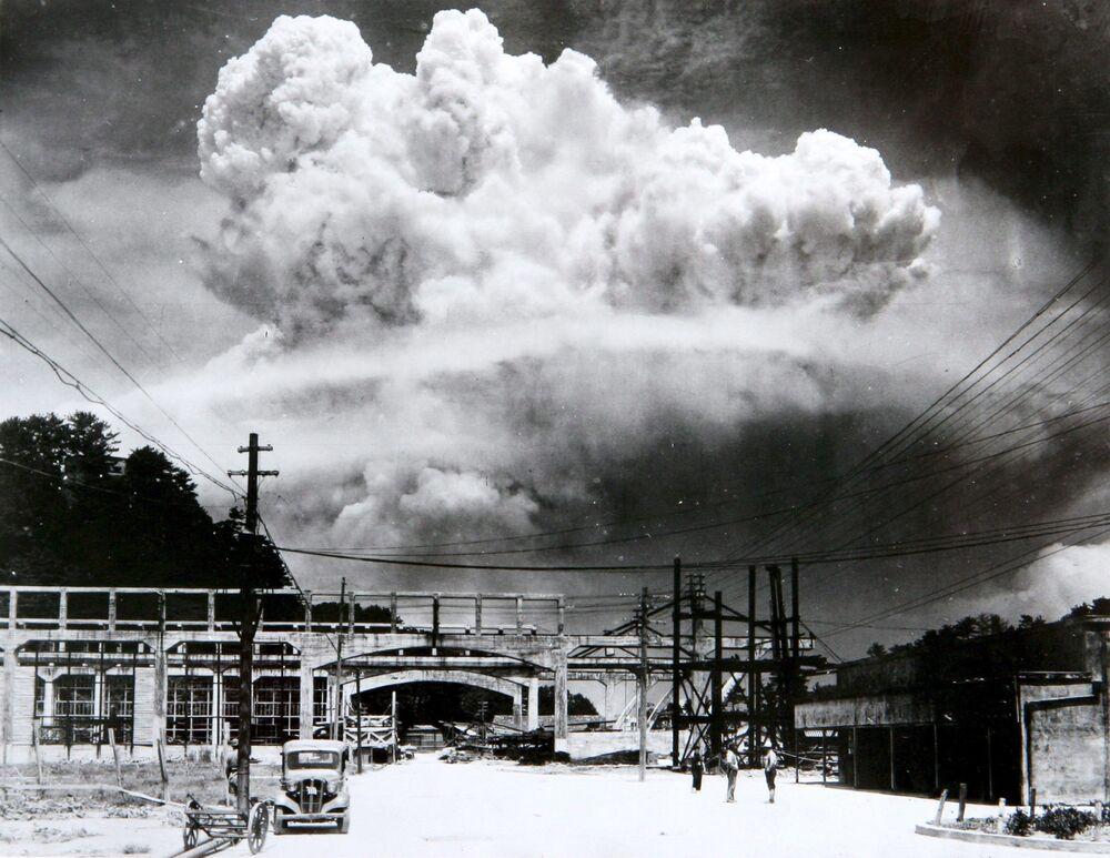 سحابة ذرية فوق ناغازاكي