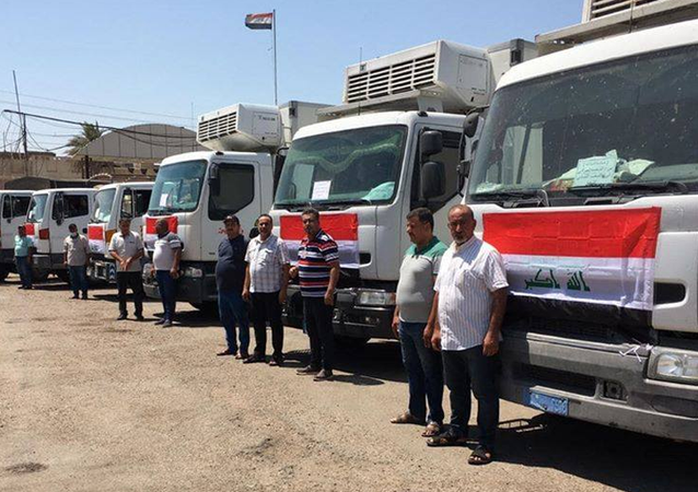 طائرة عراقية على متنها أطباء ومساعدات تغادر نحو بيروت