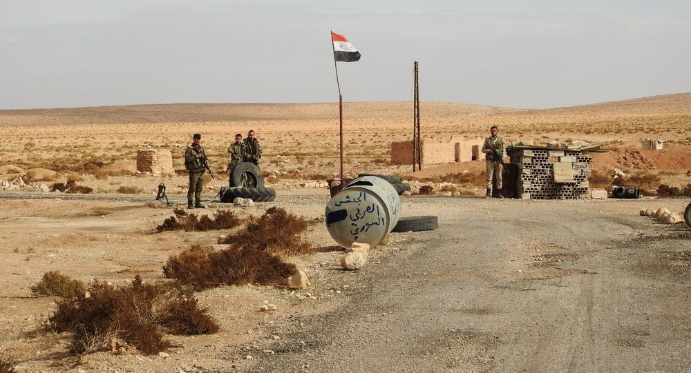 الجيش السوري يتصدى لهجوم ليلي شرقي حماة
