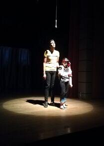 فرقة مسرحية من فاقدي البصر تقدم أول عروضها في حلب