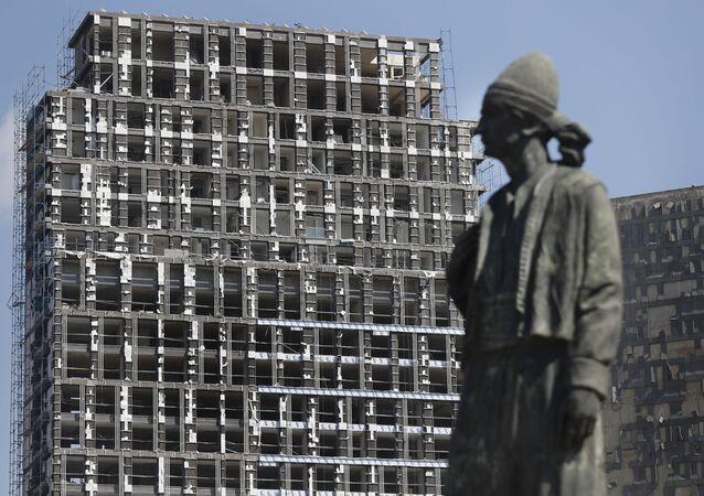 انفجار مرفأ بيروت، لبنان أغسطس/ آب 2020