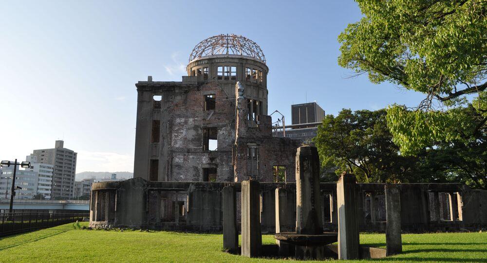 متحف السلام في هيروشيما، اليابان 6 أغسطس/ آب 2020