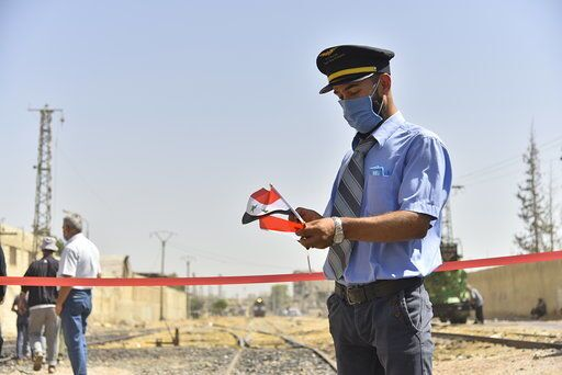 قطارات الشحن السورية تعود للعمل بين المحافظات في عام 2020