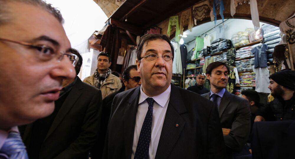 السفير الفرنسي في بيروت، برونو فوشيه