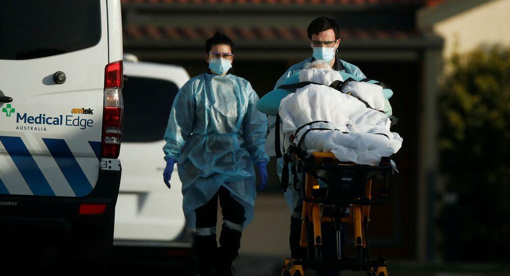 مصاب بكورونا في ملبورن بـ أستراليا