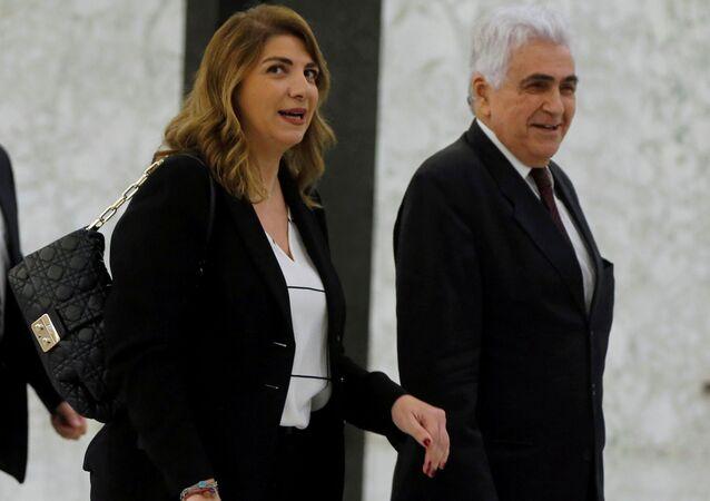 وزيرة العدل للبنانية ماري كلود نجم