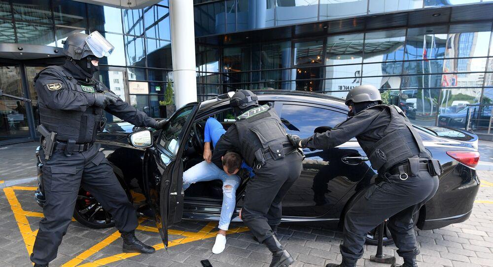 الشرطة في بيلاروسيا