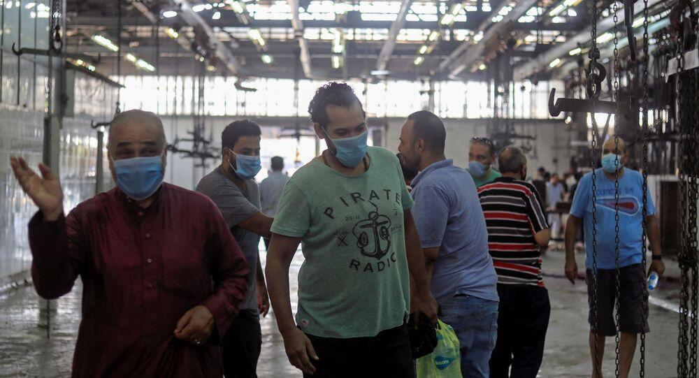 مخاوف من كورونا في مصر