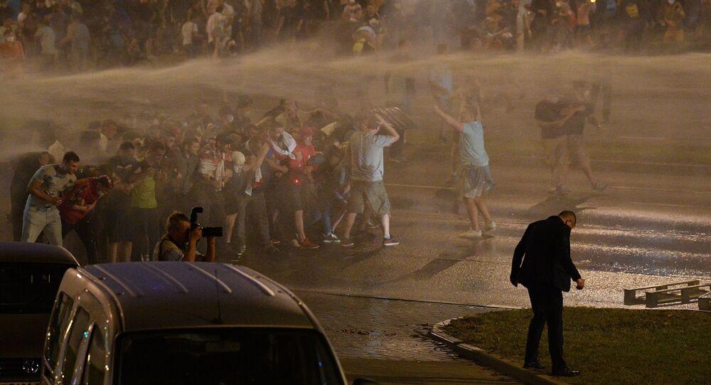 مظاهرات حاشدة في بيلاروسيا