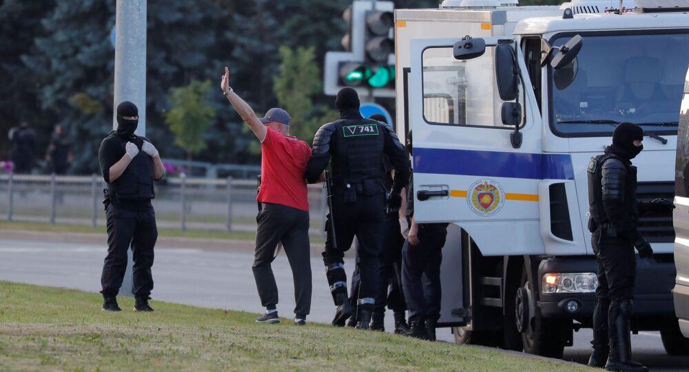احتجاجات مينسك