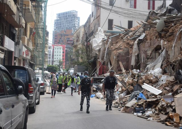 كارثة بيروت بعد مرور اسبوع عليها