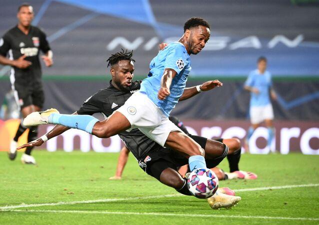 مباراة مانشستر سيتي وليون في دوري أبطال أوروبا، 15 أغسطس/ آب 2020