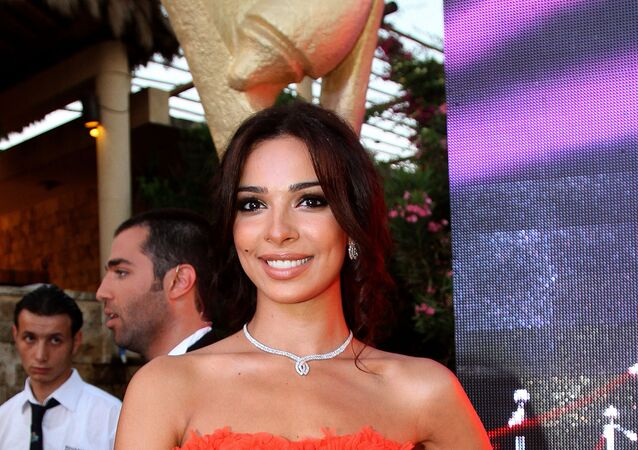 الفنانة اللبنانية نادين نسيب نجيم