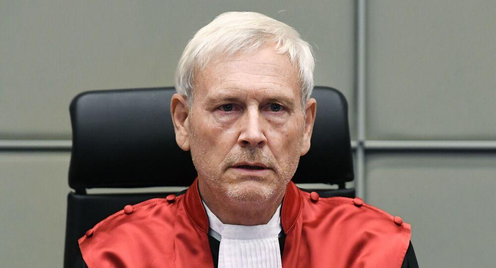 القاضي ديفيد راي في لاهاي