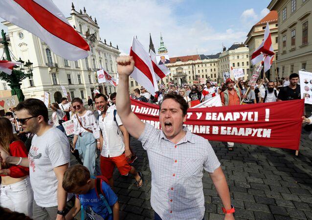 احتجاجات في بيلاروس