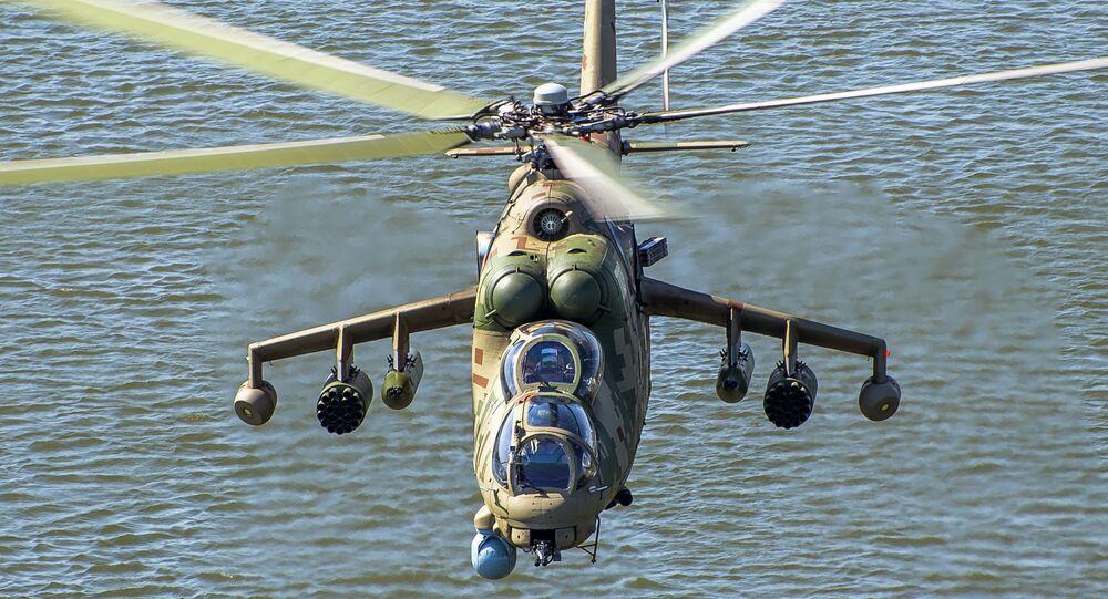 مروحية مي - 35 بي، معرض أرميا 2020