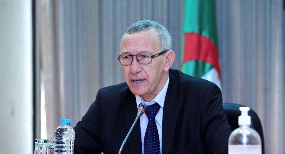 وزير الإعلام الجزائري الناطق الرسمي باسم الحكومة الجزائرية عمار بلحيمر