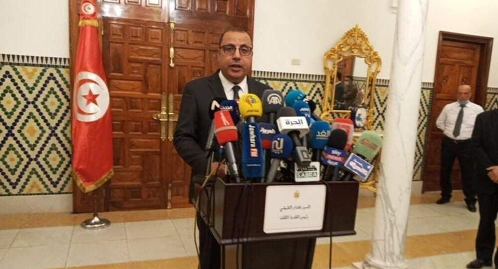 رئيس وزراء تونس المكلف هشام المشيشي يعلن تشكيل حكومته