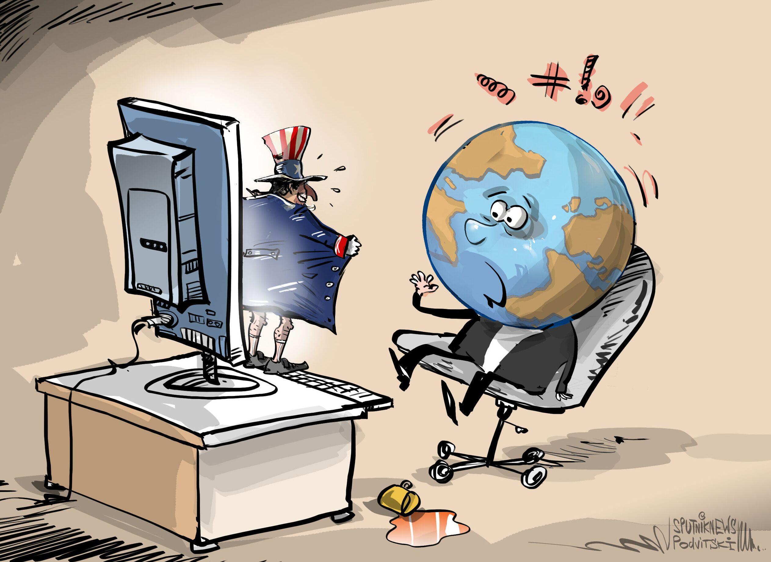 75% من الهجمات الإلكترونية في العالم أمريكية