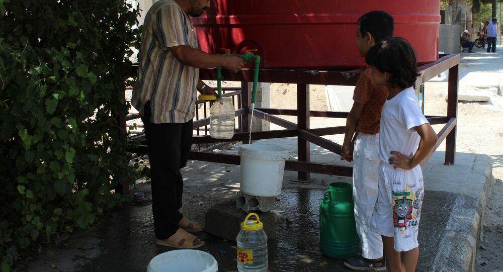أزمة مياه في الحسكة، سوريا