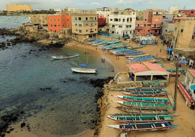 ساحل مدينة دكار 27 يوليو/ تموز 2020