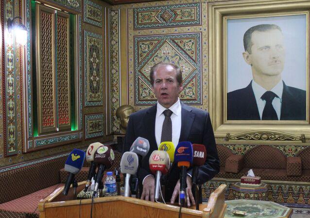 محافظ الحسكة اللواء غسان حليم خليل