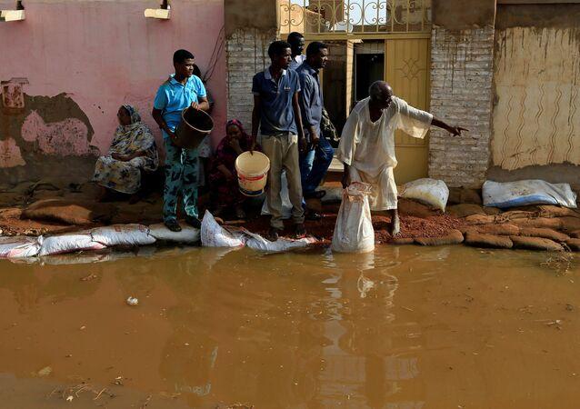 فيضانات وسيول في السودان