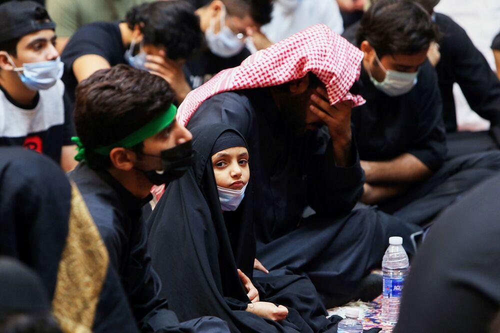 إحياء ذكرى عاشوراء في الكويت، بالرغم من تفشي فيروس كورونا في الكويت، 30 أغسطس 2020