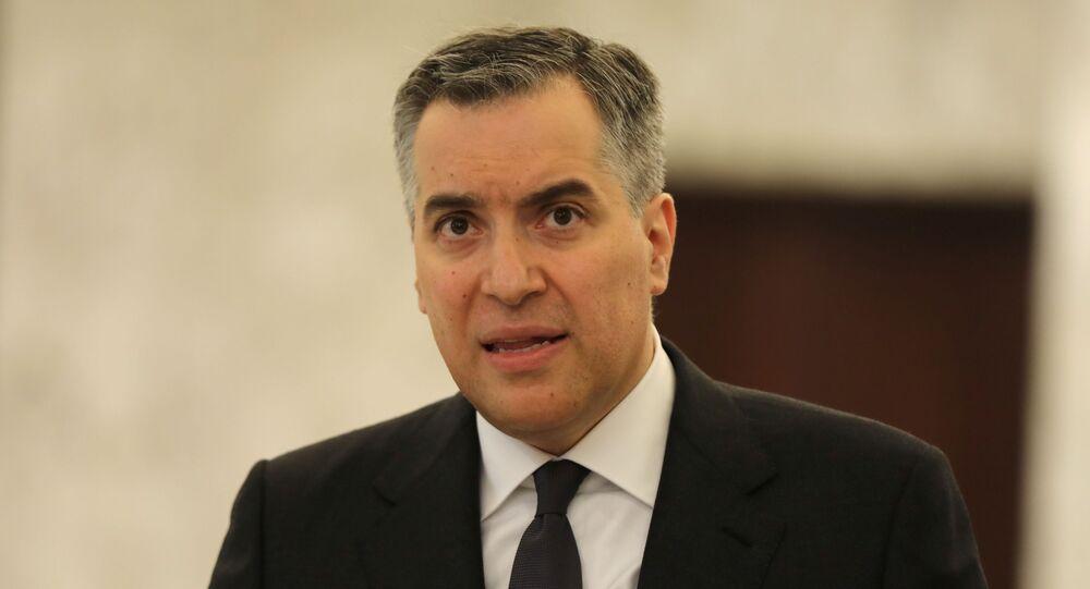 رئيس الحكومة اللبنانية المكلف مصطفى أديب